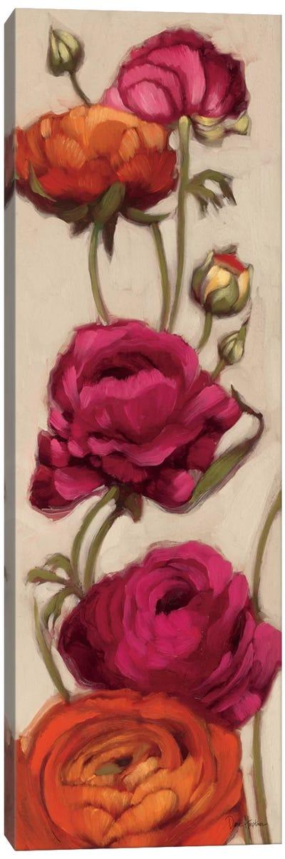 Free Range Roses II  Canvas Art Print