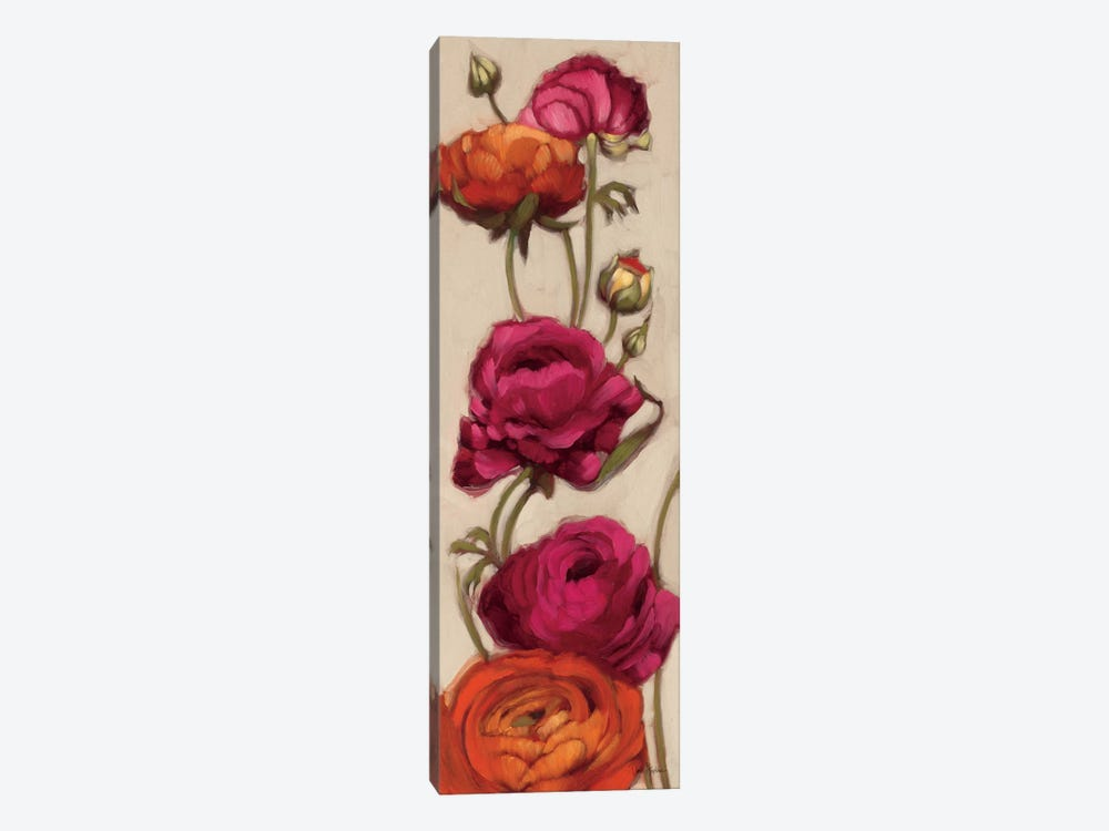 Free Range Roses II  by Diane Hoeptner 1-piece Canvas Art