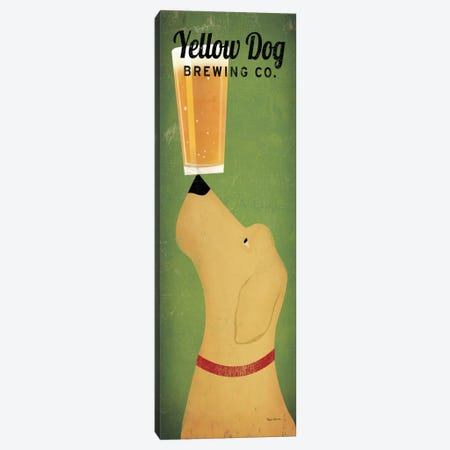 Yellow Dog Brewing Co.  Canvas Print #WAC2180} by Ryan Fowler Canvas Art