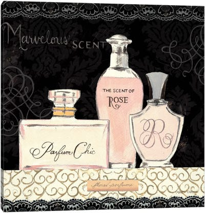 Les Parfum I Canvas Art Print