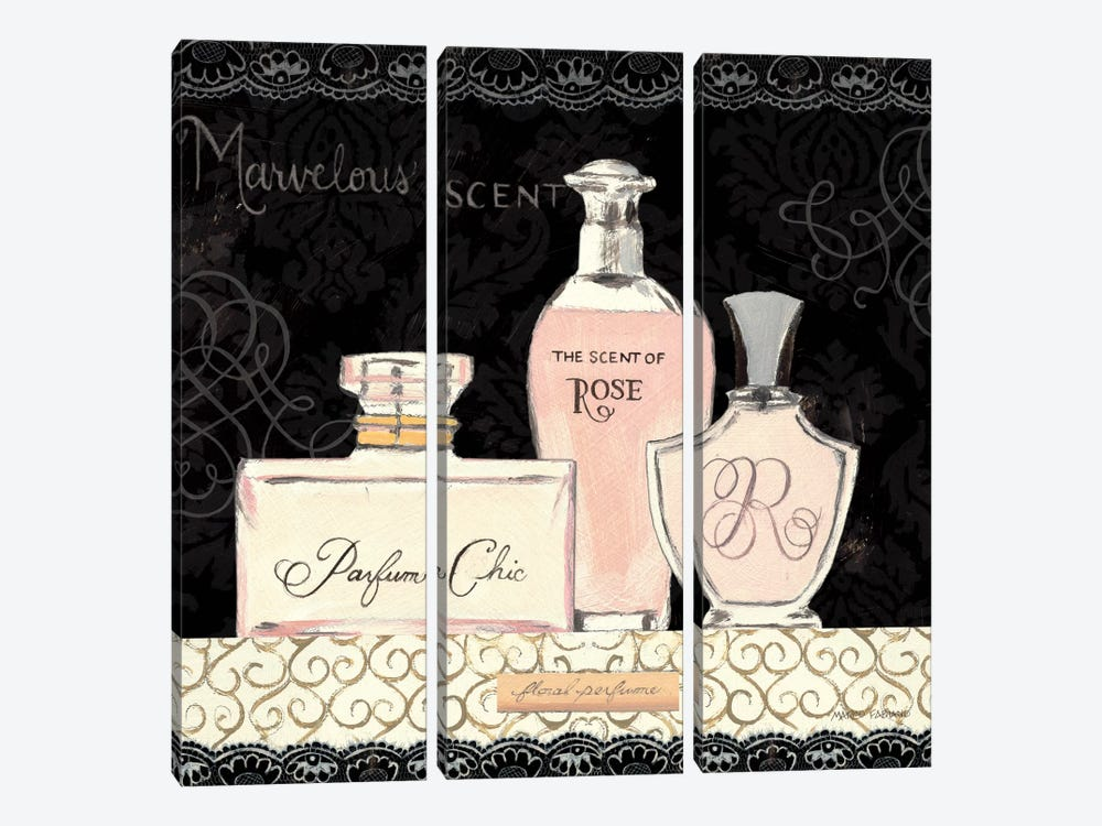 Les Parfum I by Marco Fabiano 3-piece Art Print