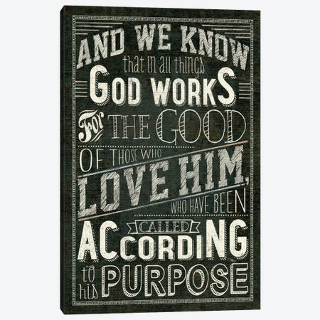 Holy Words I Canvas Print #WAC2189} by Pela Studio Canvas Art