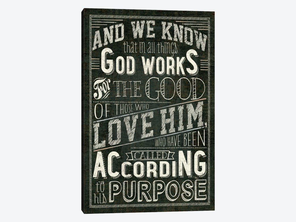 Holy Words I by Pela Studio 1-piece Canvas Wall Art