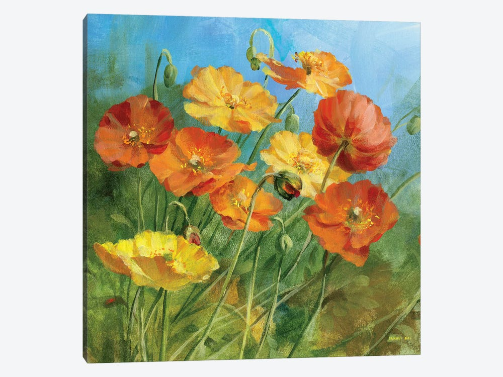 Summer Field IV by Danhui Nai 1-piece Canvas Wall Art
