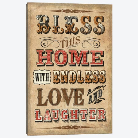Blessed I Canvas Print #WAC2195} by Pela Studio Canvas Artwork