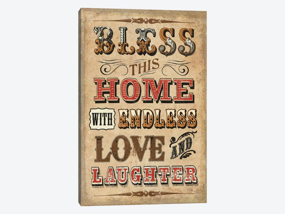 Blessed I by Pela Studio 1-piece Canvas Art Print