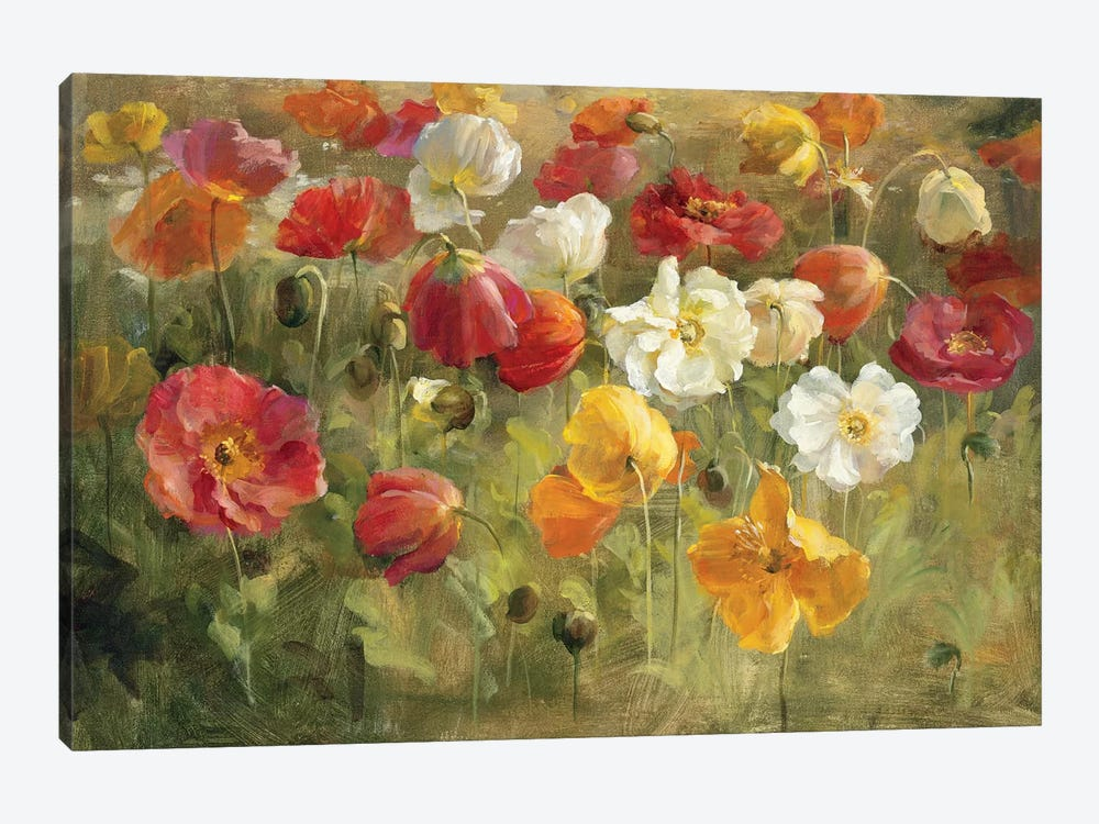 Poppy Field by Danhui Nai 1-piece Art Print