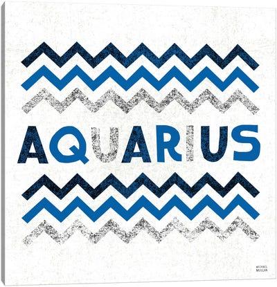 Zodiac Aquarius Canvas Art Print