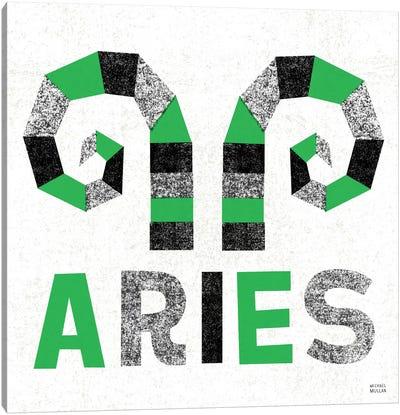 Zodiac Aries Canvas Print #WAC2208