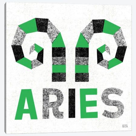 Zodiac Aries Canvas Print #WAC2208} by Michael Mullan Art Print