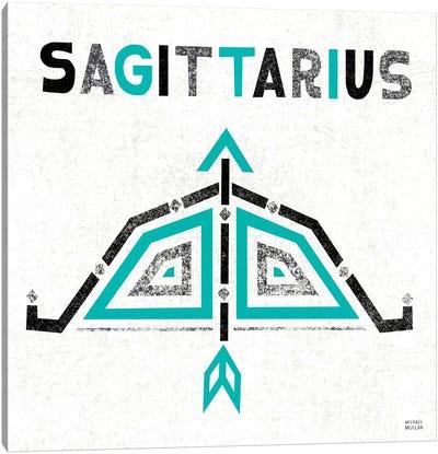 Zodiac Sagittarius Canvas Art Print