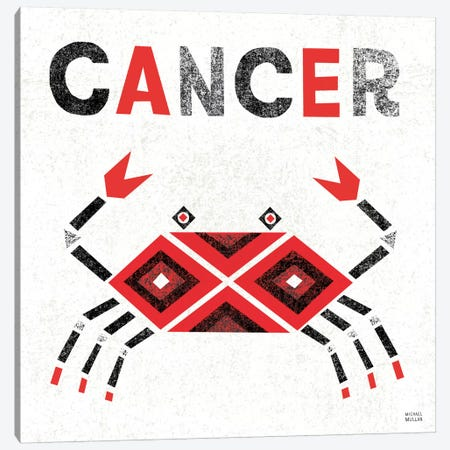 Zodiac Cancer Canvas Print #WAC2210} by Michael Mullan Canvas Art