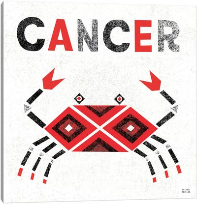 Zodiac Cancer Canvas Art Print