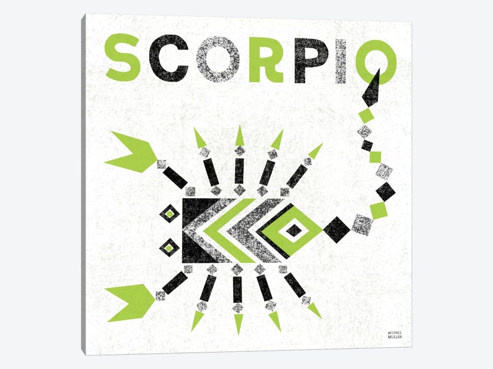 Zodiac Scorpio 1-piece Canvas Art Print