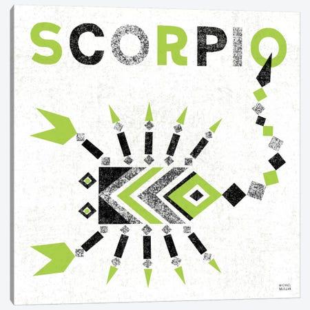 Zodiac Scorpio Canvas Print #WAC2211} by Michael Mullan Canvas Art