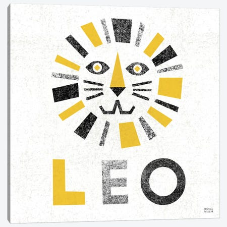 Zodiac Leo Canvas Print #WAC2216} by Michael Mullan Canvas Print