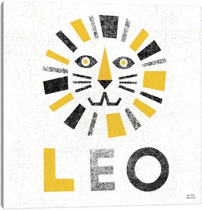 Zodiac Leo Canvas Art Print