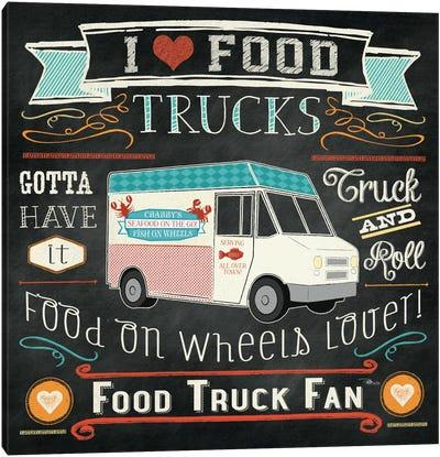 Food Truck I Canvas Print #WAC2217