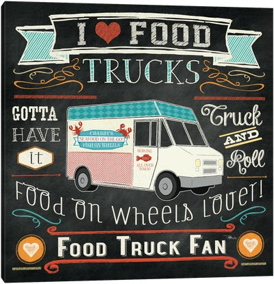 Food Truck I Canvas Art Print