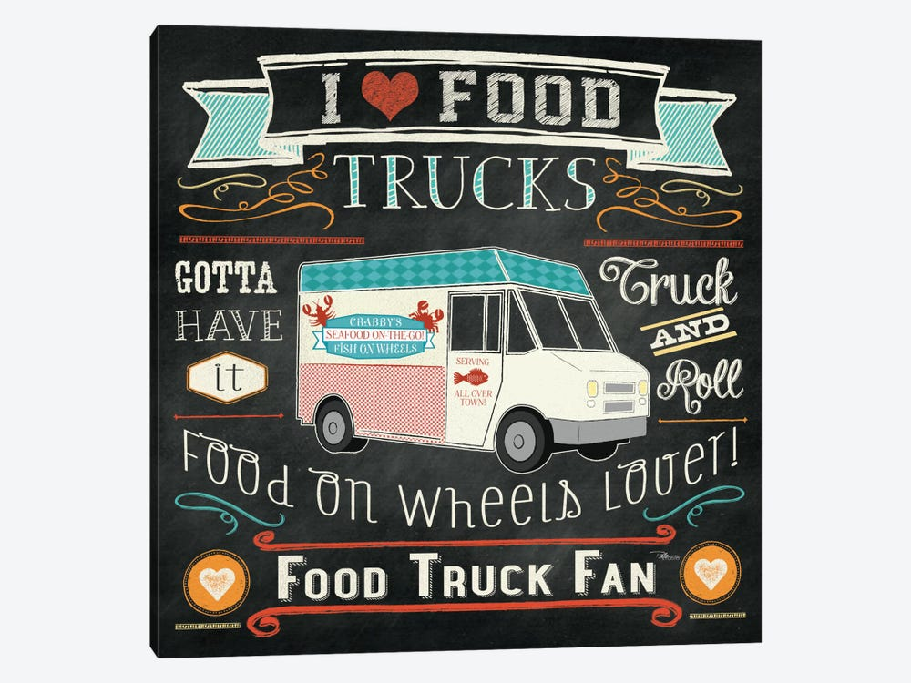 Food Truck I by Pela Studio 1-piece Canvas Print