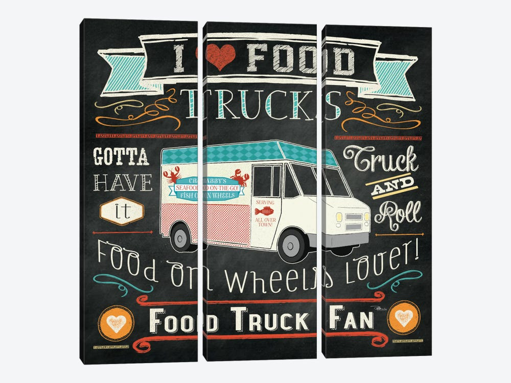 Food Truck I by Pela Studio 3-piece Art Print