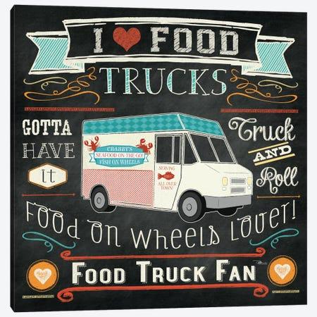 Food Truck I Canvas Print #WAC2217} by Pela Studio Art Print