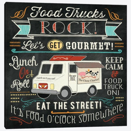 Food Truck II Canvas Print #WAC2218} by Pela Studio Canvas Artwork