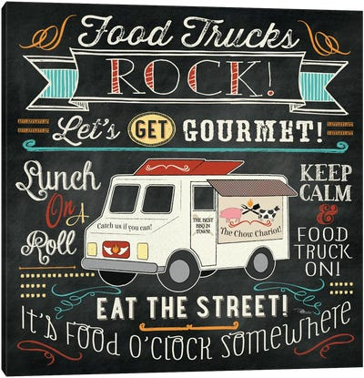 Food Truck II Canvas Art Print