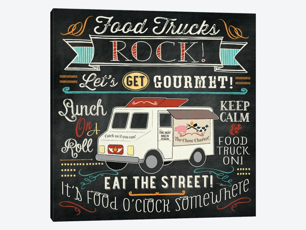 Food Truck II by Pela Studio 1-piece Canvas Art