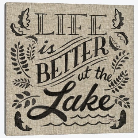 Lake Life I Canvas Print #WAC2221} by Wellington Studio Canvas Print