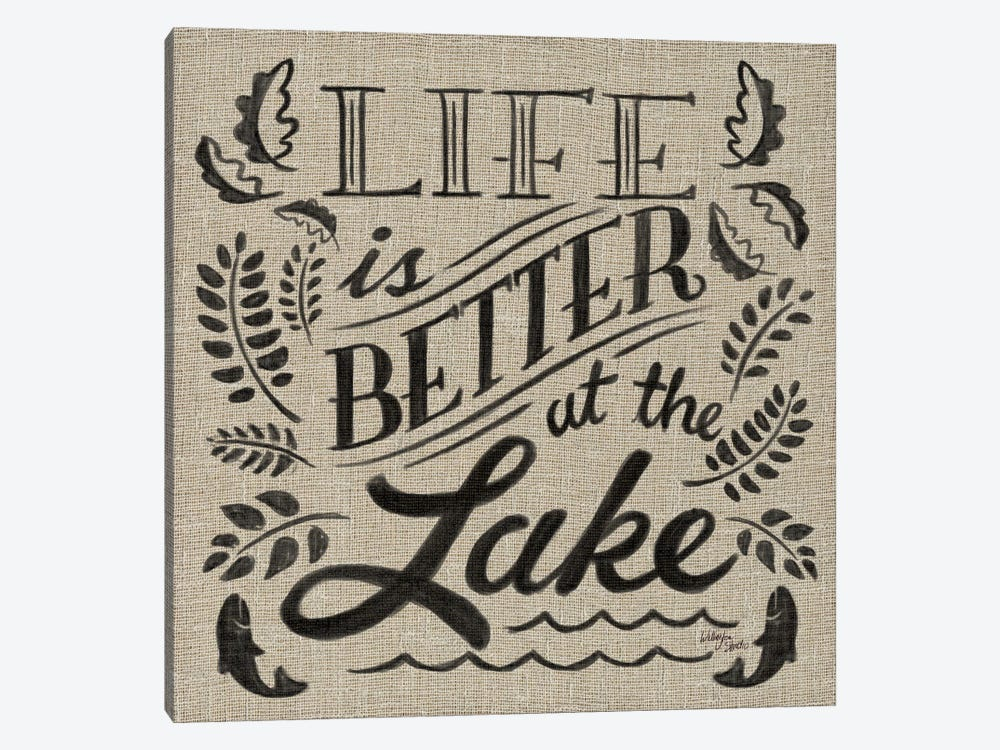 Lake Life I by Wellington Studio 1-piece Canvas Art