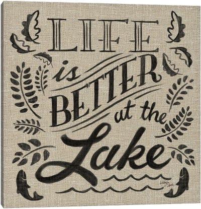 Lake Life I Canvas Art Print