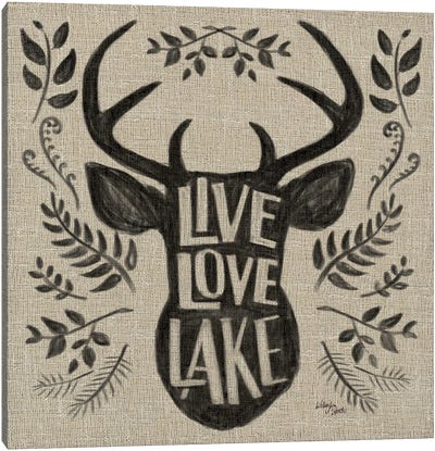 Lake Life III Canvas Art Print