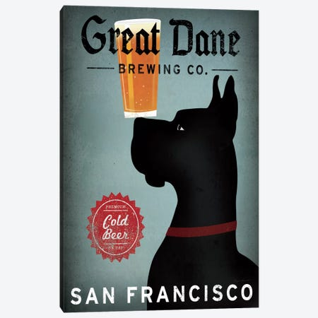 Great Dane Brewing Co. Canvas Print #WAC2242} by Ryan Fowler Canvas Print