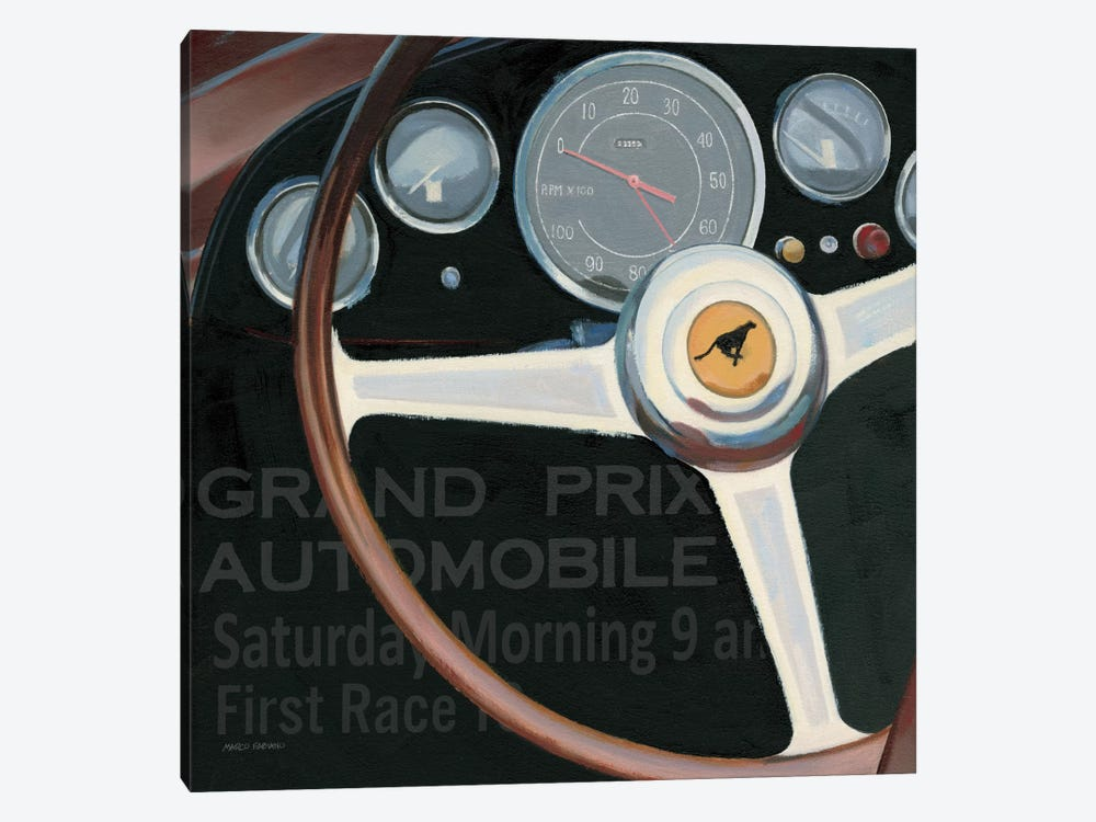 RPM I with words by James Wiens 1-piece Canvas Print