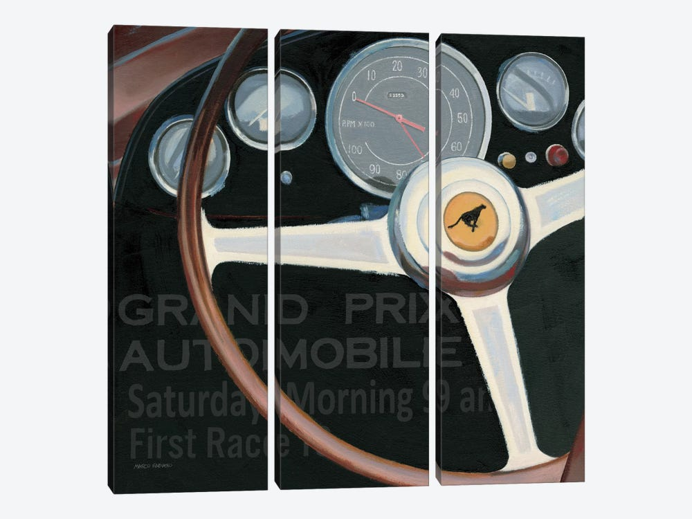 RPM I with words by James Wiens 3-piece Art Print
