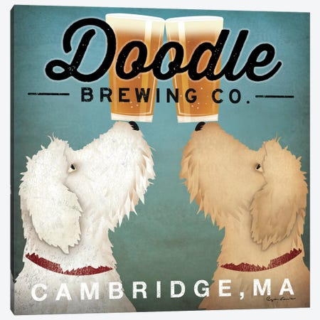 Doodle Brewing Co. Canvas Print #WAC2248} by Ryan Fowler Canvas Art Print