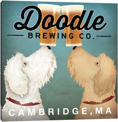 Doodle Brewing Co. Canvas Print #WAC2248
