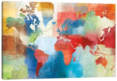 Seasons Change Abstract Canvas Print #WAC2250