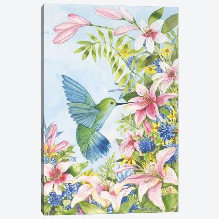 Pink Tiger Lilies Canvas Print #WAC2251} by Kathleen Parr McKenna Canvas Artwork