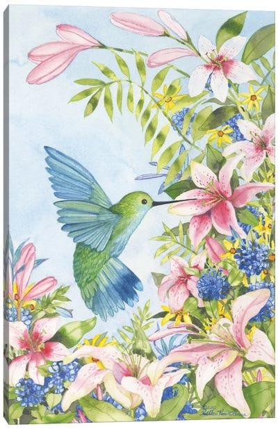 Pink Tiger Lilies Canvas Art Print
