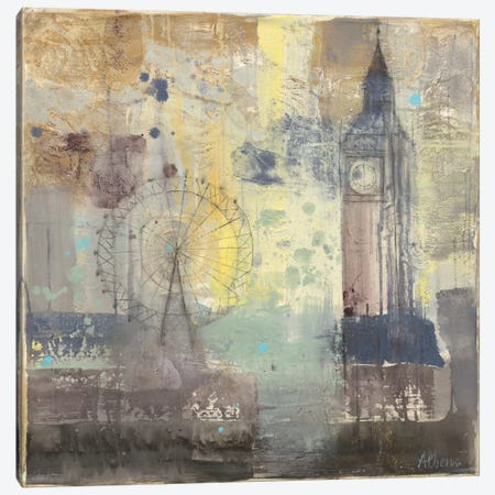 Big Ben Canvas Print #WAC2253} by Albena Hristova Canvas Art