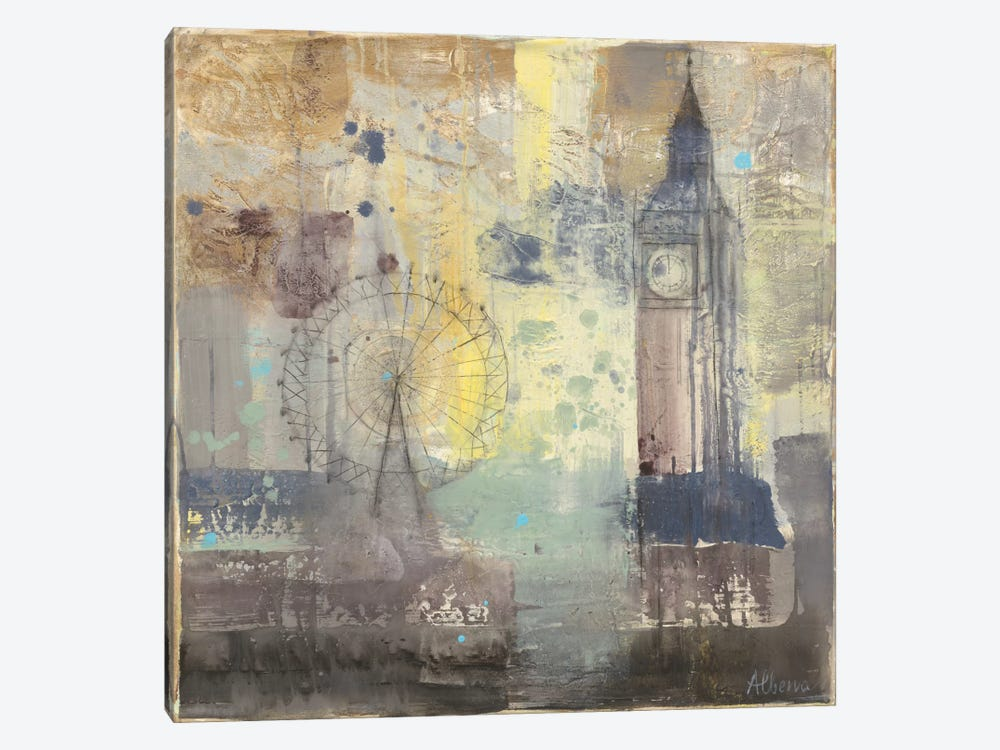 Big Ben by Albena Hristova 1-piece Canvas Print