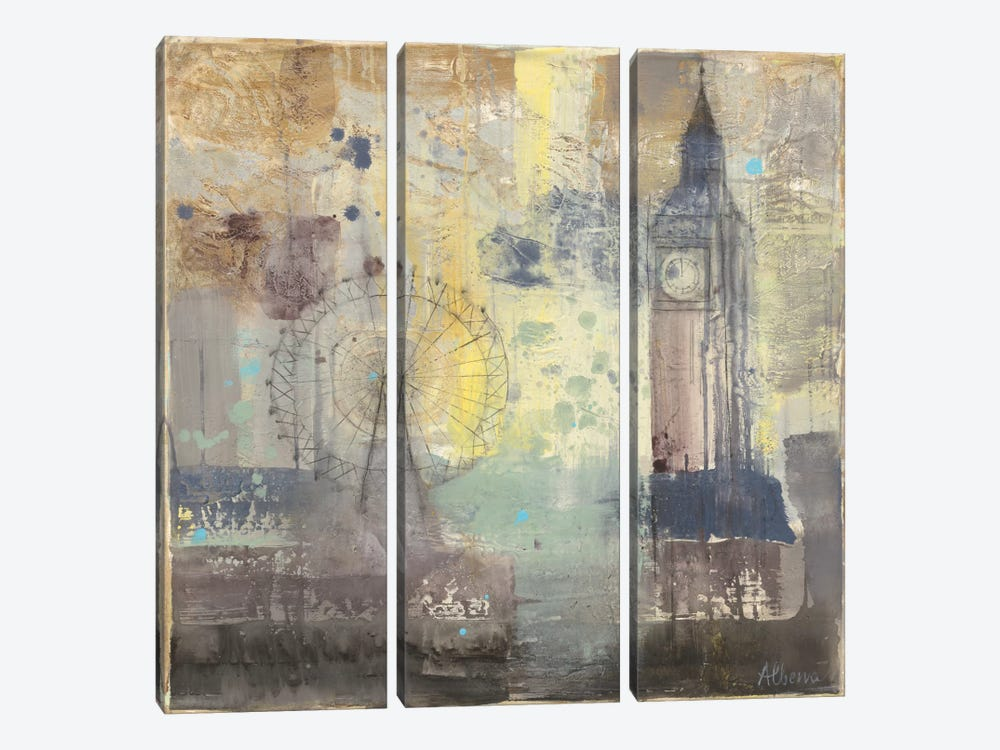 Big Ben by Albena Hristova 3-piece Art Print