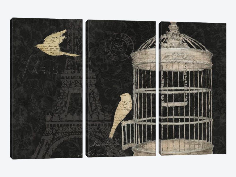 Via Paris I by James Wiens 3-piece Canvas Print