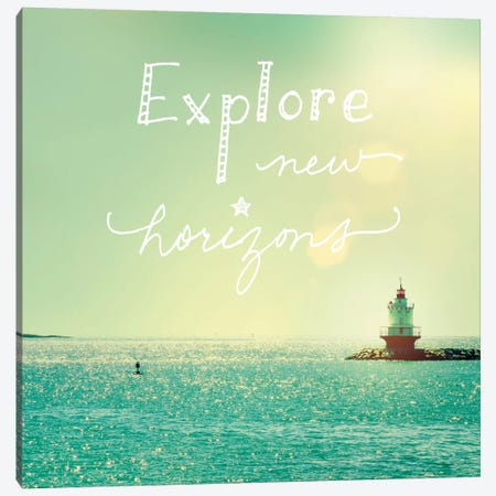 Explore Lighthouse Canvas Print #WAC2258} by Sue Schlabach Canvas Art