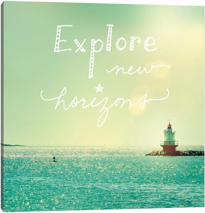 Explore Lighthouse Canvas Art Print