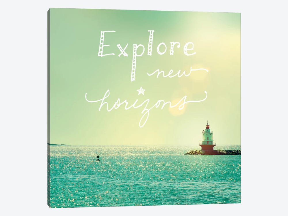 Explore Lighthouse by Sue Schlabach 1-piece Canvas Art