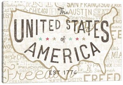 Road Trip USA Canvas Print #WAC2269