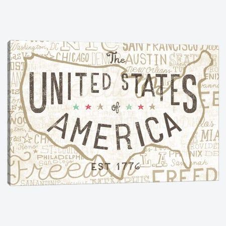 Road Trip USA Canvas Print #WAC2269} by Oliver Towne Canvas Art Print
